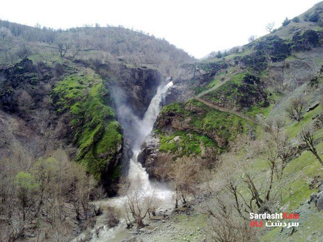آبشار شلماش سردشت
