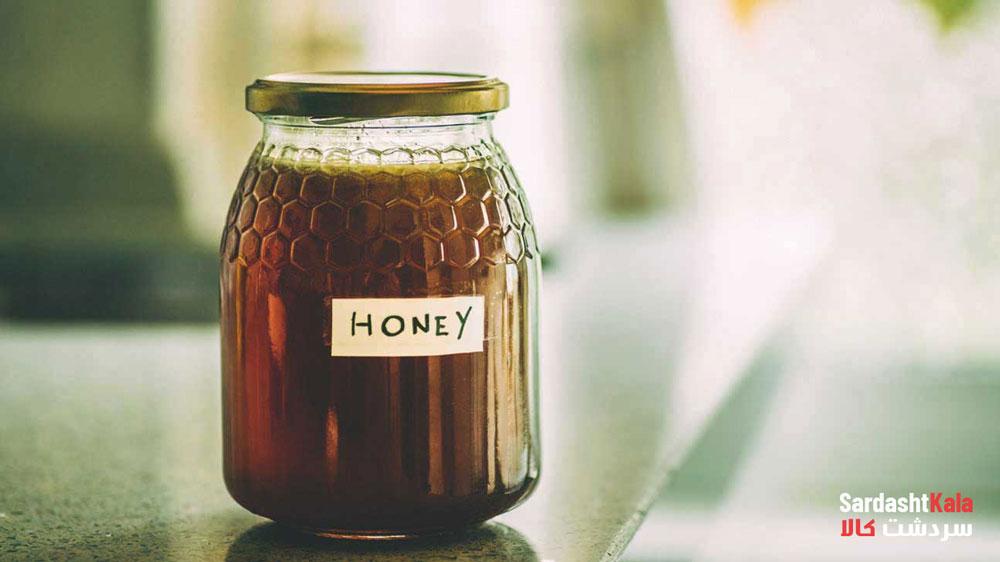 عسل طبیعی شکرک
