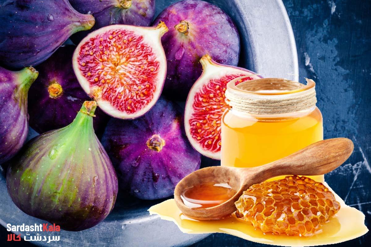 فواید شگفت انگیز عسل و انجیر برای پوست، مو و سلامتی